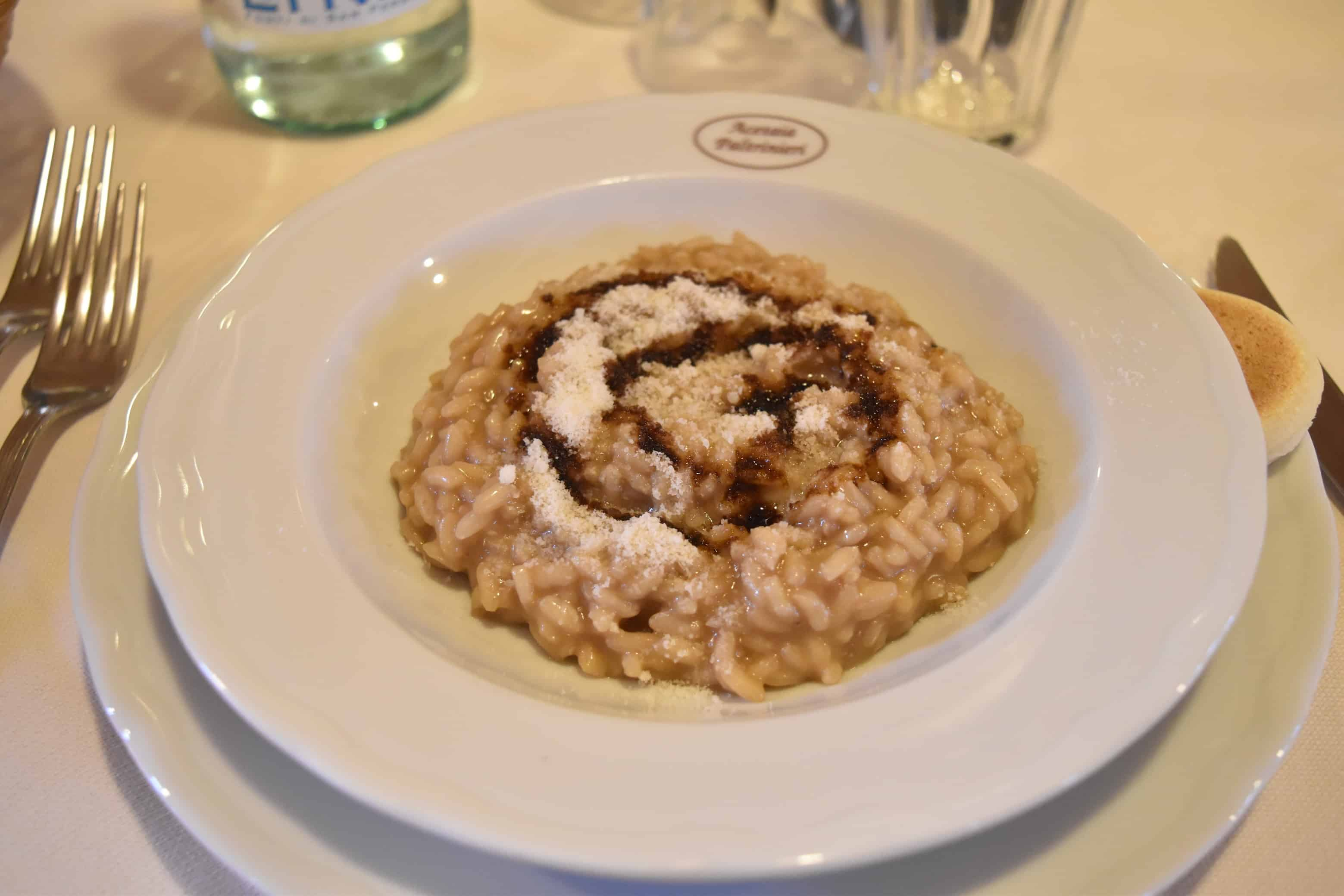 Risotto made with